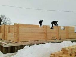 Wooden Houses Kit from Glued Laminated Timber - фото 4