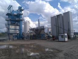 Б/У Асфальтный завод Benninghoven ECO- 320 т/ч, 2012 г.