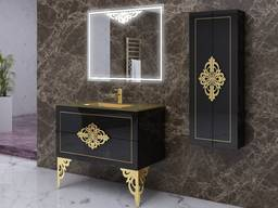 Bathroom furniture set with sink
