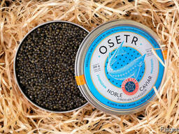 Natural black caviar of Siberian sturgeon - photo 1