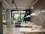 Design for office, bank, restaurant, bar, beauty salon - photo 7