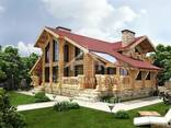 Ecological clean house from Arkhangelsk pine 300-600 sq. m - фото 1