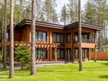 Дома из бруса профилированного и оцилиндрованного бревна. Строительство и проектирование - фото 1