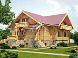 Ecological clean house from Arkhangelsk pine 300-600 sq. m - фото 2