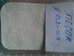 Песок кварцевый сухой фрак 0,4-0,8 мм 0,8-1,2 мм 1,2-1,6 мм - photo 4