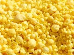 Technical sulphur granulated