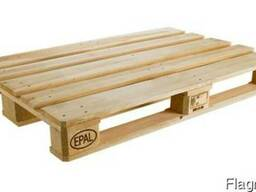 Wooden pallets EPAL, EUR, 1000*1200IPPC, your size - фото 1